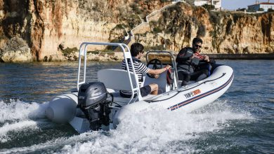 Photo of Boats – YAMAHA ALU INFLATABLES – 380 TAF