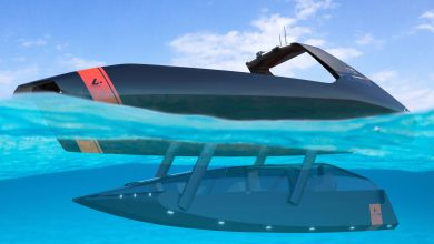 Photo of THE FRENCH COMPANY PLATYPUS CRAFT UNVEILS THE WORLD'S FIRST SEMI-SUBMERSIBLE TENDER