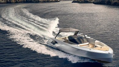 "Photo of FRAUSCHER PRESENTS ""AIR"" VERSION OF THE POWERFUL YACHT"