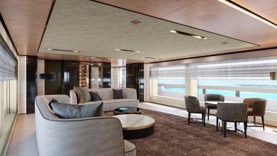 Photo of BAGLIETTO, FOR THE FIRST TIME, UNVEILS THE INTERIOR OF HULL #10233, 48M T-LINE
