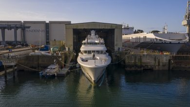 Photo of NEWLY EXTENDED 74.5M LADY E LAUNCHES AT PENDENNIS FOLLOWING MAJOR REFIT PROJECT