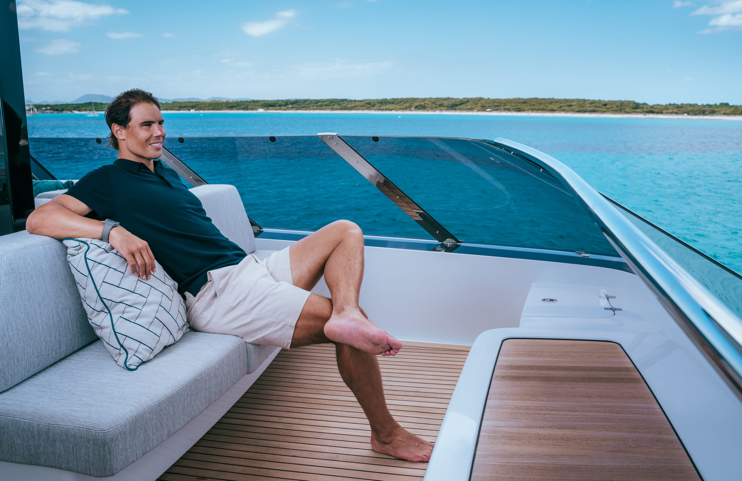 On Board With A Champion Video Q A With Rafael Nadal Nautika Present