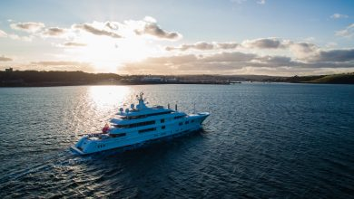 Photo of PENDENNIS RELEASE FURTHER PROJECT DETAILS ON NEWLY EXTENDED 74.5m MY LADY E REFIT